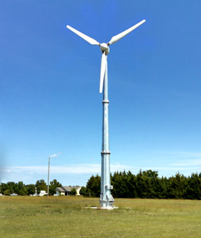 10Kw Osiris Wind Turbine - Project Photos