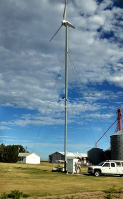 10Kw Osiris turbine 250x403 - 10Kw Osiris turbine installed in Copeland Kansas