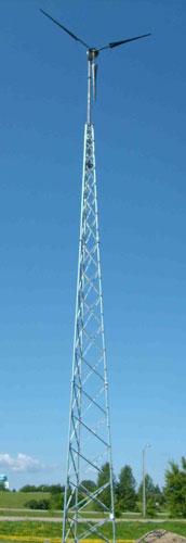 rohntower full view skinny - Wind Turbine - Ventera